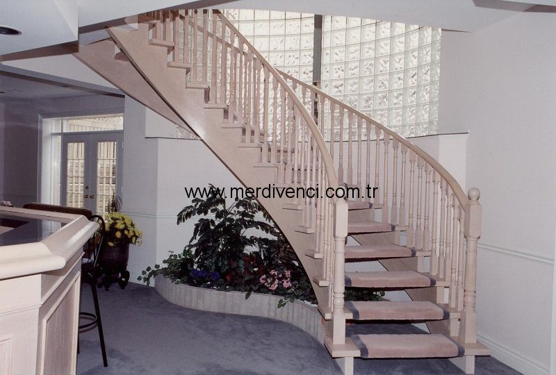 Ahsap Tasiyicili Merdivenler -18