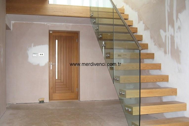 Duvardan Montajlı Merdivenler-Konsol Merdivenler